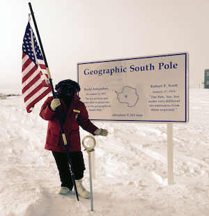 Jim Kurose at South Pole