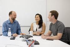Andrew McCallum, Priscilla Chan, Mark Zuckerberg