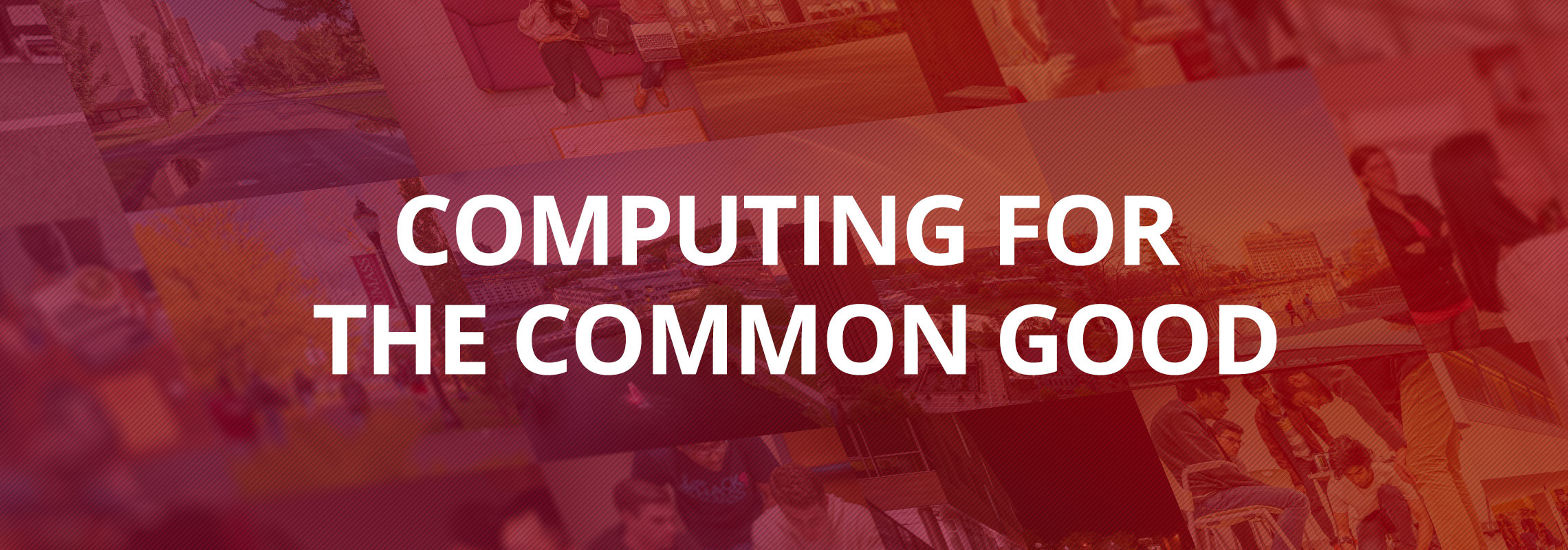 Computing for the Common Good