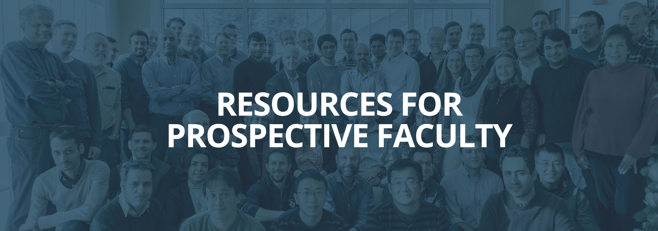 Resources for Prospective Faculty