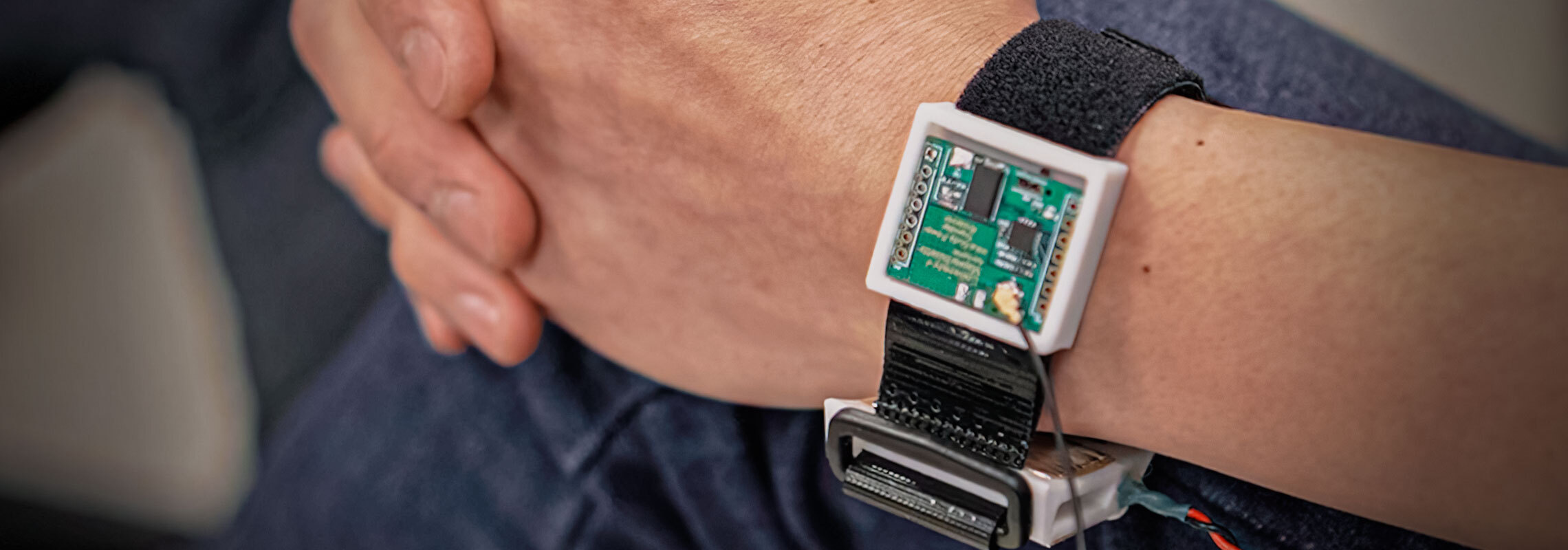 Skin in the Game: A UMass Amherst team led by CICS Assistant Professor Sunghoon Ivan Lee has designed a prototype battery-lesswearable device that charges through human skin.